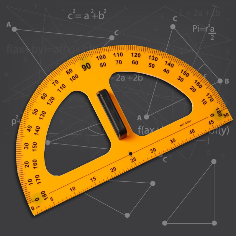 Multifunction Drawing Protractor Math Geometry Tools For School Supplies Y5GE