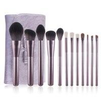 12Pcs Makeup Brush Set Foundation Loose Powder Eyeshadow Lip Brush Make Up Brush Kit H