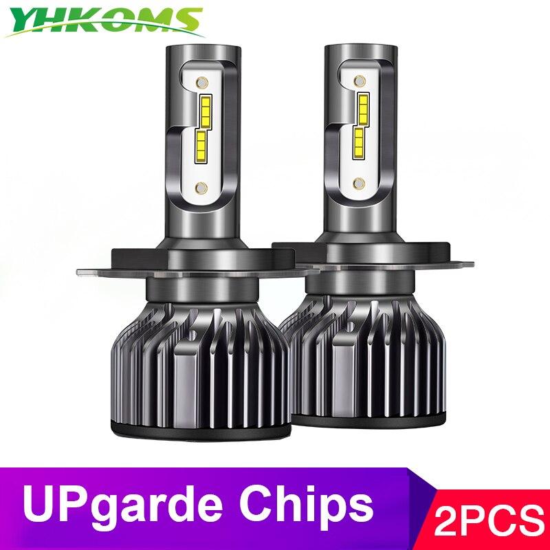 YHKOMS Headlamp Car-Lights 9012 Led 8000K Auto H11 9006 H4 4300K H8 6500K 12V H9