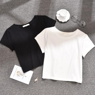 2020 Women Short Sleeve Shirtmint  Top Garment