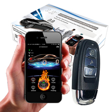 Car-Alarm-System Cardot Remote-Engine-Start-Stop Push-Button PKE NEW 2g Gps App