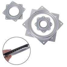 Quadrado preguiçoso susan 360 ° rotativa rolamento plataforma giratória 300 libras rolamentos placa dropshipping