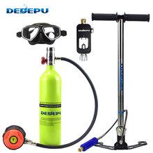 Dedepu подводное погружение для подводного дыхания снаряжение