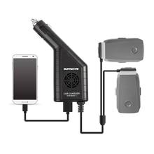 Mavic 2 Autolader Dual Batterij Oplader Met Usb Car Charger Remote Charger Voor Dji Mavic 2 Pro Zoom Drone batterij Charg