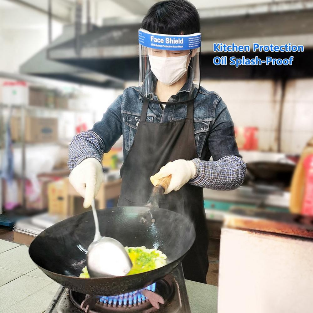 Clear Face Cover and Protective Face Shield with Full Face Visor for Eye and Face Protection 3