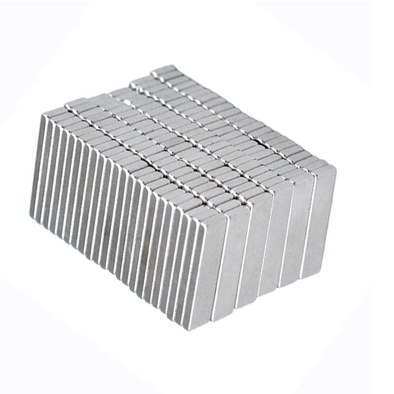 20/50/100/200/300/500 Pcs Block Super 20*5*3 Mm magnet Kuat N35 Neodymium Magnet Sheet 20X5X3 Mm Permanen NdFeB Magnet