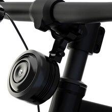 1300MAh Chuông Xe Đạp Điện Nhẫn Từ Xa Xe Đạp Còi Báo Động Sạc USB Âm Thanh Lớn Chống Nước BMX MTB An Toàn Chống trộm Xe Đạp Báo Động