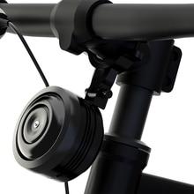 1300mAh 자전거 벨 전기 반지 원격 자전거 경적 경보 USB 충전 시끄러운 소리 방수 BMX MTB 안전 도난 방지 자전거 알람