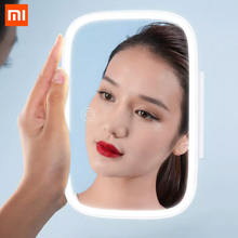 Зеркало для макияжа xiaomi mijia 83 дюйма с перезаряжаемым светодиодным