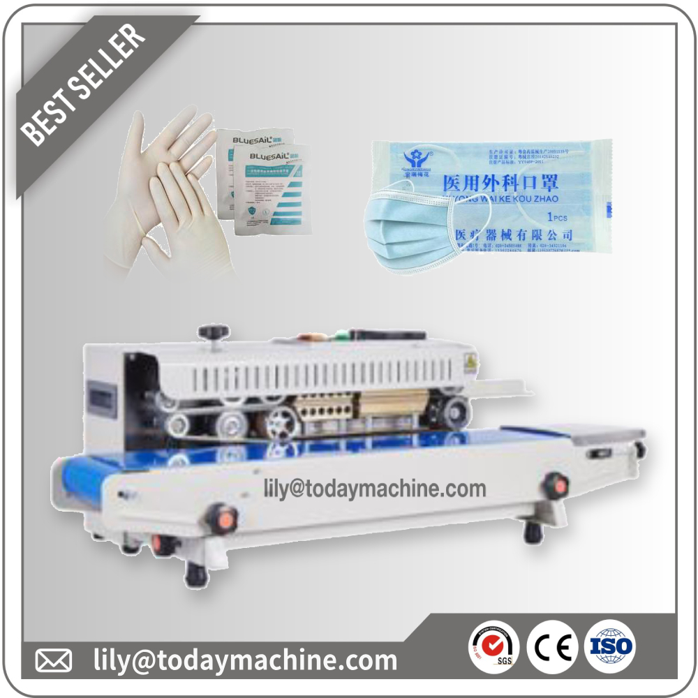 Disposable Medical Face Mask Flow Sealing Machine