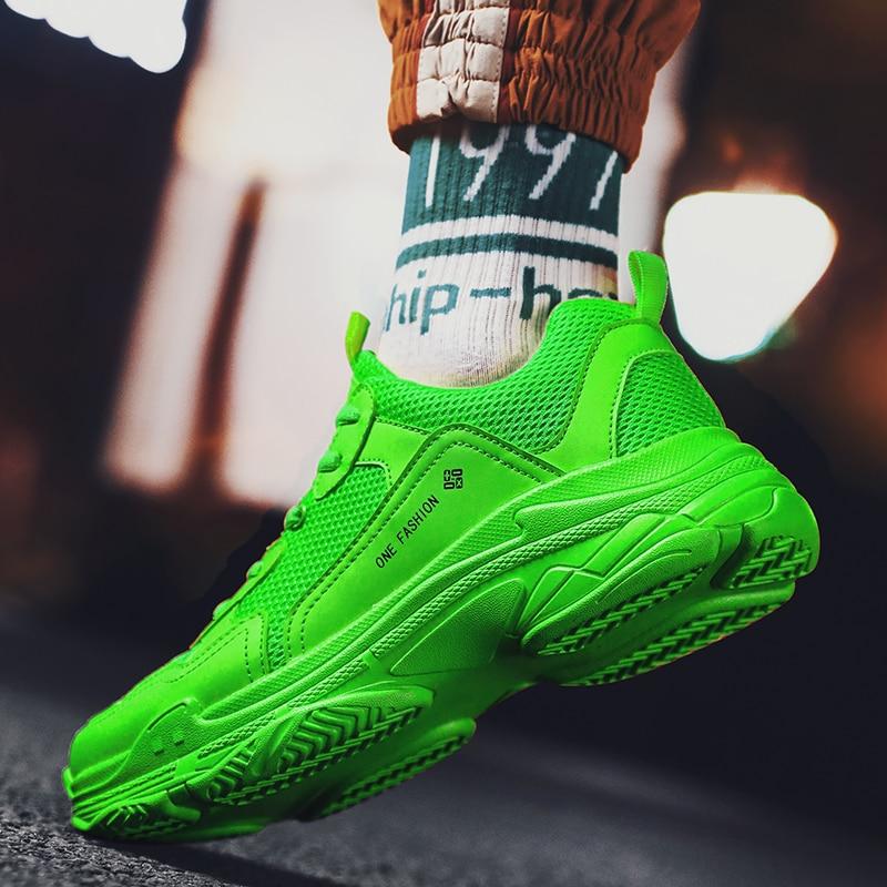 2019 marca de lujo Clunky Sneaker Paris Dad Shoes mujeres hombres Triple S Sneakers zapatillas para correr par de zapatillas deportivas gimnasio