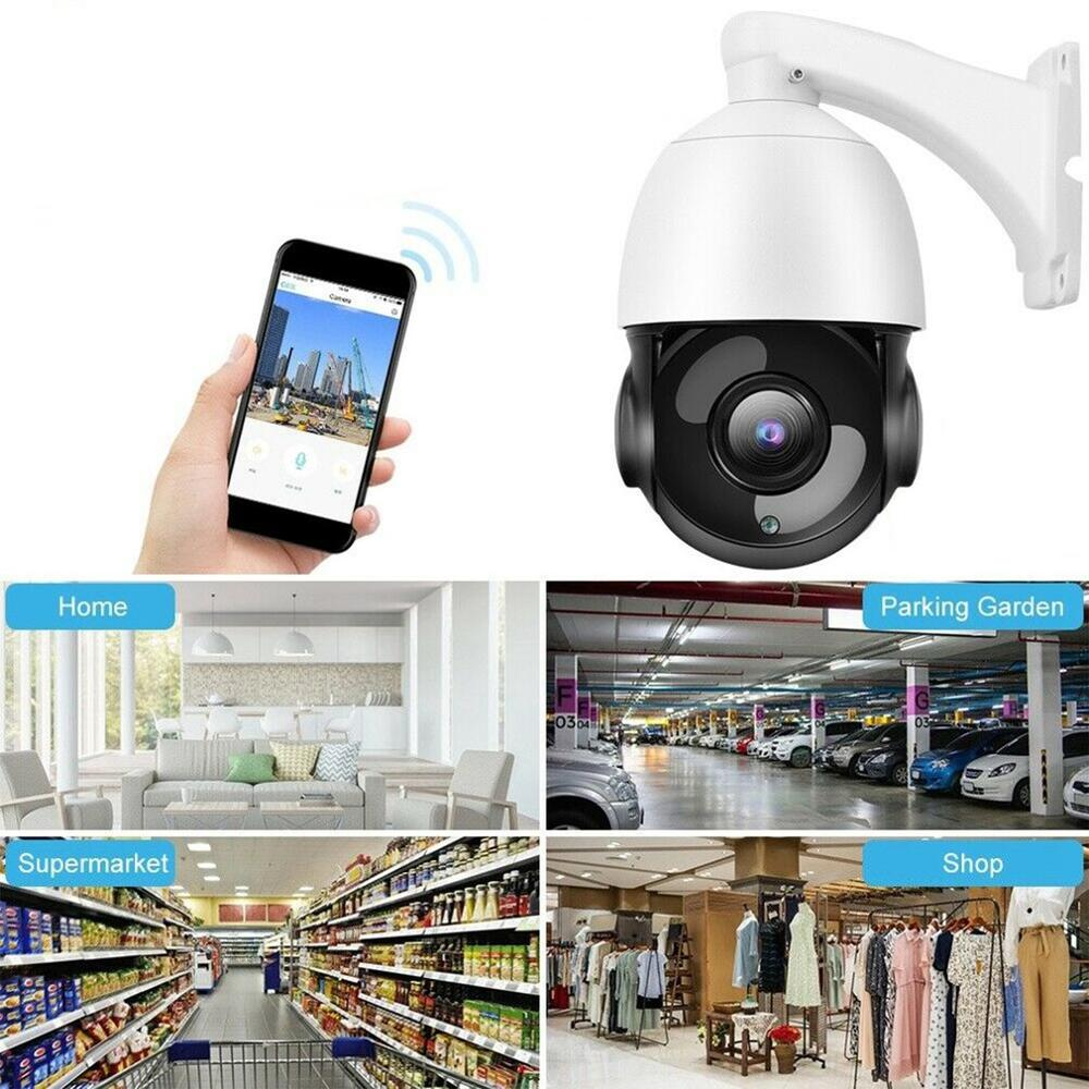 Outdoor Wifi Ip Camera 30X Zoom Optical Cctv Ptz Hd 1080P Dome Security Ir Camera Safety Portable Durable - 6