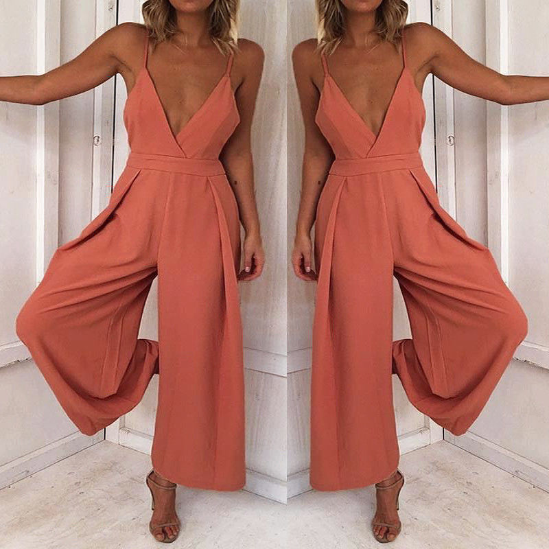 Fashion Women Ladies Clubwear Hollow Playsuit Bodycon Party Jumpsuit&Romper Trousers