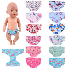 Roupas de boneca roupa interior escolher nossa geração para 18 Polegada boneca americana & 43 cm bebê nascido roupas de boneca, para meninas presentes de natal