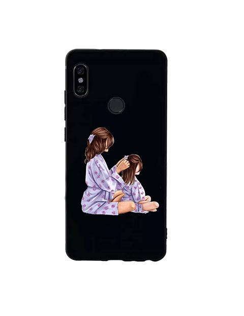 Moda mama i dziecko etui na telefony dla Xiaomi Mi Max uwaga 1 2 3 miękkiego silikonu tylna pokrywa dla Xiaomi Mi Mix 1 2 2S 3 przypadku