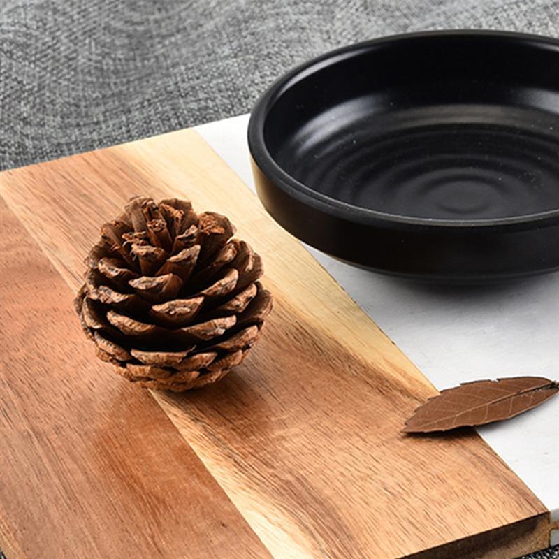 tábua de pão de corte de frutas-tipo b (preto)