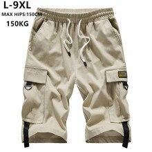 קיץ מכנסיים קצרים מטען גברים מותג קצר ברמודה Hombre 6XL 7XL 8XL 9XL Mens קורטו היפ הופ Hiphop בני כותנה מזדמן בני נוער Ropa