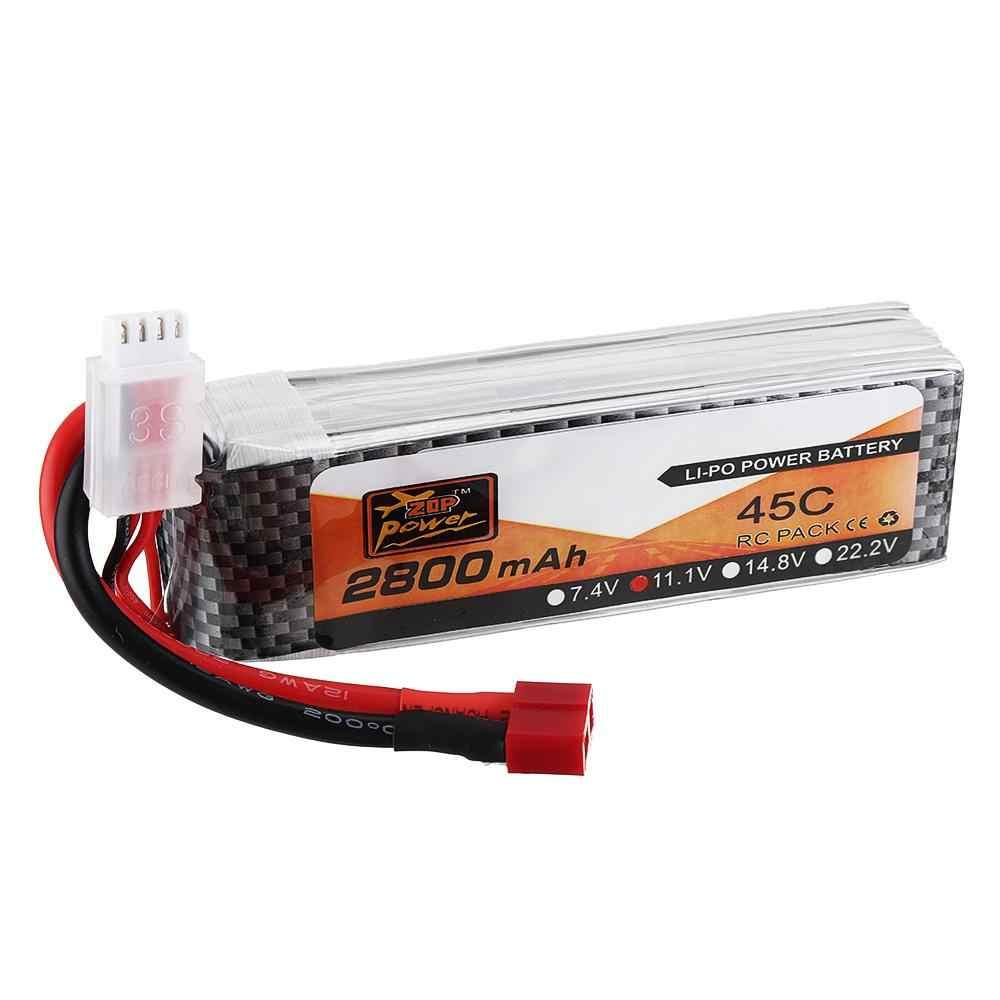 Lipo батарея 11,1 V 2800mAh 45C 3S Lipo батарея T разъем для радиоуправляемые машины самолеты