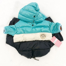1 pc Winter Pet Clothes Warm Waterproof Dog for a Jacket Coat Down For Puppy Dogs Pug Schnauzer