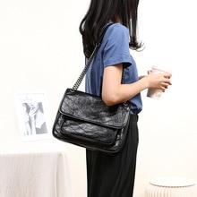 Handbags Messenger-Bag Shoulder Large-Capacity New Chain-Bag