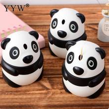 Automatic Toothpick Box Cartoon Panda Dispenser Hand Press Container Home Decor Storage Boxes Kitchen Accessories