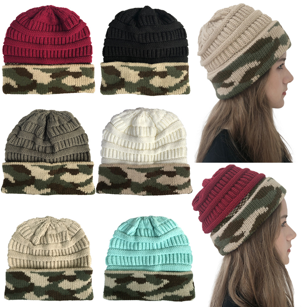 Knit Hat Hooded Wool-Hat Warm Outdoor Hip-Hop And Without The-United-States Hot-Sale
