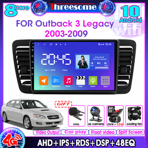 Android10.0 4G+64G 8 core 2Din Car Radio Multimedia Video Player For Subaru Outback 3 Legacy 4 2003-2009 GPS Navigation car play
