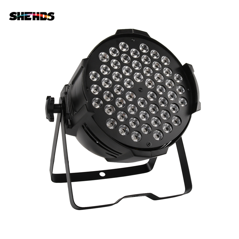 54x9W RGB 3in1 LED Par Light Wall Wash Bar Party Disco Show Wedding Stage Lights 486W Spotlight DMX Par DJ Lamp Escenario SHEHDS