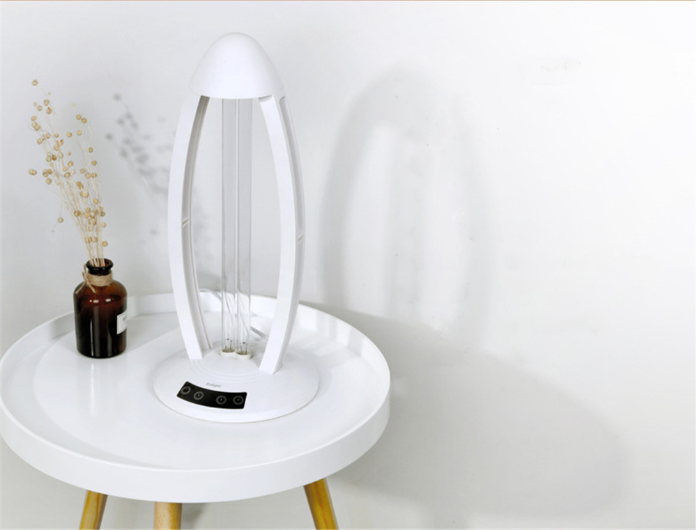 360° 36W Ultraviolet Sterilizer Lamp 220V Germicidal UVC Disinfection Lamp Acaricide Coronavirus Prevention With Remote Control 44