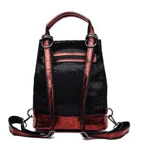 Image 3 - 2019 винтажный рюкзак для женщин, высококачественные кожаные рюкзаки, многофункциональная женская сумка на плечо, школьная сумка высокой емкости для девочек