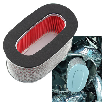 Motorcycle Air Filter Element Intake Cleaner For Honda Shadow 400 750 ACE Deluxe Spirit VT400 VT750 VT750C VT750CD DC 97-03 image