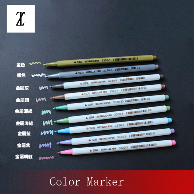 Model Coloring Tools Gundam Military Painting Color Pen Marker