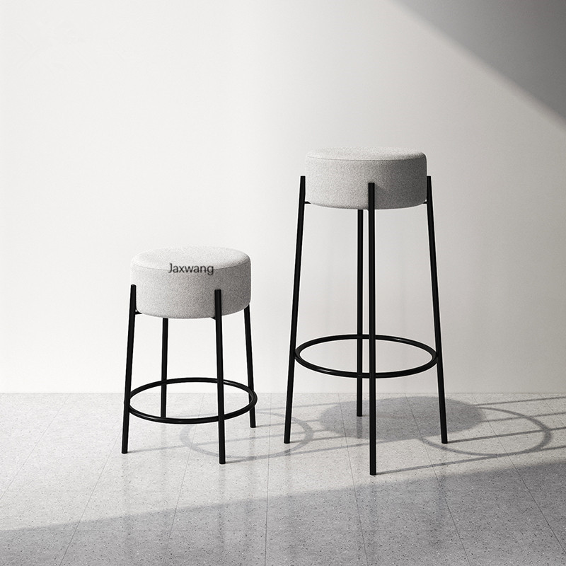 Customized Bar Chair Home Furniture, Small Round Stools