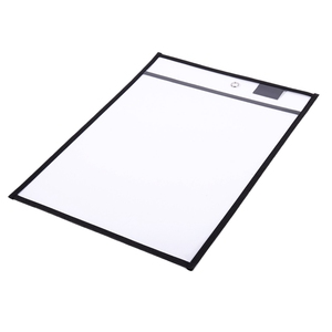 Image 5 - 30 Pack Dry Erase Pockets PVC Transparent Sewn Dry Erase File Bag Reusable Dry Erase Bag