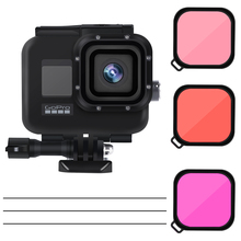 45m Underwater Waterproof Case for GoPro Hero 7 6 5 Black Diving Protective Cover Housing Mount for Go Pro 7 6 5 Accessory diving waterproof case underwater housing case mount camera accessories for gopro hero 6 5 black action