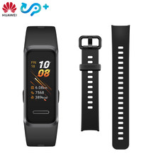 Originele Huawei Band 4 Smart Polsband 0.95 ''Kleur AMOLED Touch Colorfull Screen Zwemmen Houding Detecteren Hartslag Slaap Snap(China)