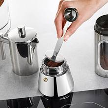 Dois-em-um nordic aço inoxidável colher de café selo clipe de leite quantidade de tempero espresso em pó colher de cozinha suprimentos