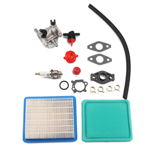 1 set Aluminum Carburetor Set with Air Filter Fuel Filter Compatible with Briggs & Stratton 799866/790845/799871/796707/794304 цена и фото