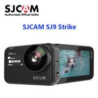 Original SJCAM SJ9 Strike 4K WIFI Action Kamera Supersmooth GYRO/EIS Wasserdichte Drahtlose Lade Live-Streaming Sport Kamera