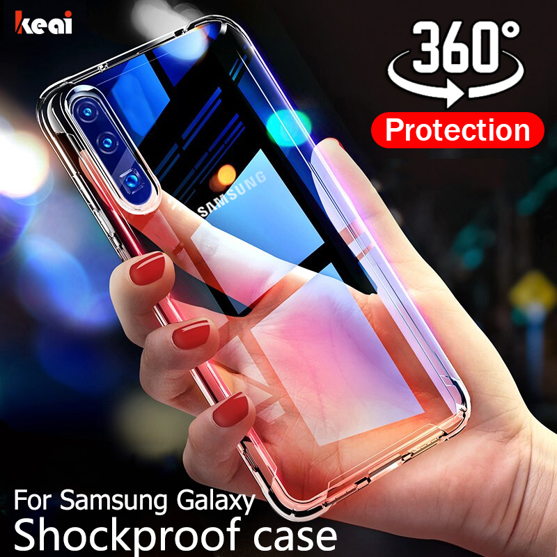 360 Full Cover Case For Samsung Galaxy A50 A70 A40 A30 A20 A10 A60 A90 A80 For S8 S9 S10 Plus S10e Note 9 8 10 Pro Phone Case