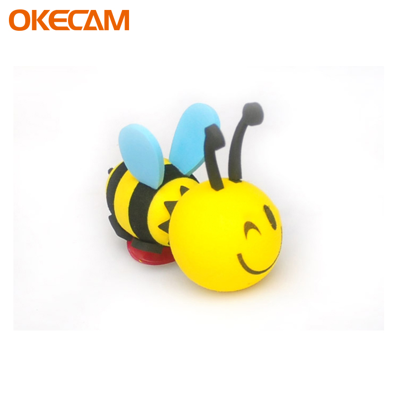 Car Stickers Interesting Cartoon Bee For Smart Fortwo Forfour 453 451 450 452 454 Crossblade City-Coupe Roadster Coupe Forjeremy