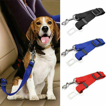 Pet Dog Cat Car Safety Belt Puppy Car Seat Belt Adjustable Harness Seatbelt Lead Leash For Small Medium Dogs Travel Pet Supplies heavy duty safty bungee seat belt adjustable nylon rope car adult seatbelt leash padded belts jumping protection outdoor tool page 9