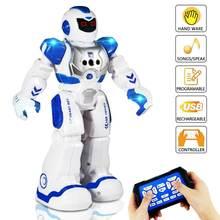 Программируемый робот петь Танцующая экшн фигурка умные игрушки