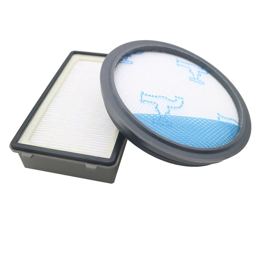 2 unids/lote de filtros para Rowenta HEPA RO3715 RO3759 RO3798 RO3799 Kit de piezas de aspiradora accesorios de potencia compacta