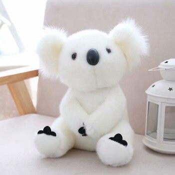 13cm Cute Koala Bear Mini Plush Toys for Children Soft Stuffed Animals Plush Dolls Kids Birthday Party Christmas Gift for Girl - 13cm, White