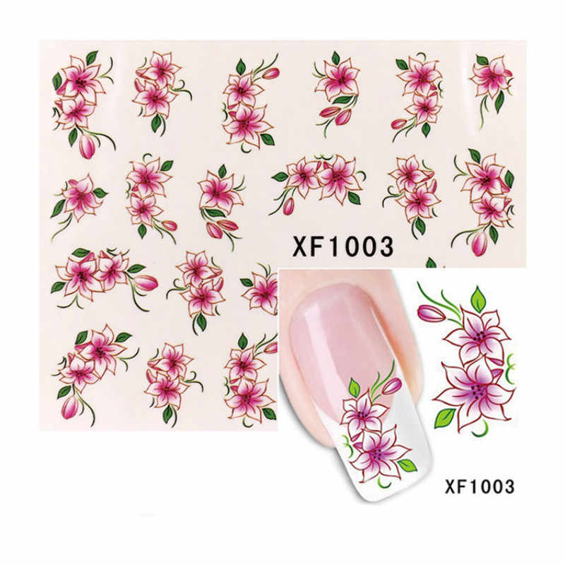 1Pcs DIY แฟชั่นสีสันผีเสื้อเหล็กแผ่นปั๊มเล็บดอกไม้เล็บ DIY เล็บภาพ Stencil อุปกรณ์เสริมเครื่องมือ