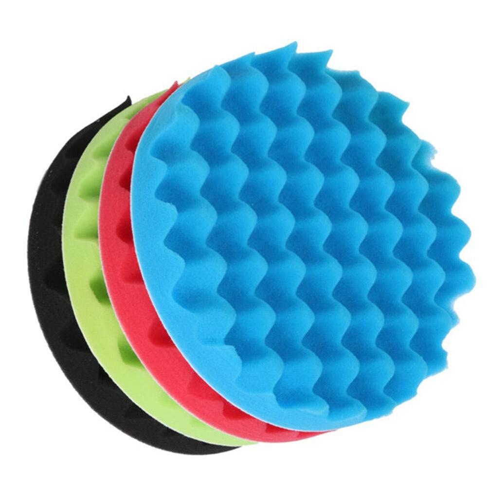 automático polimento esponja buff almofada de polimento