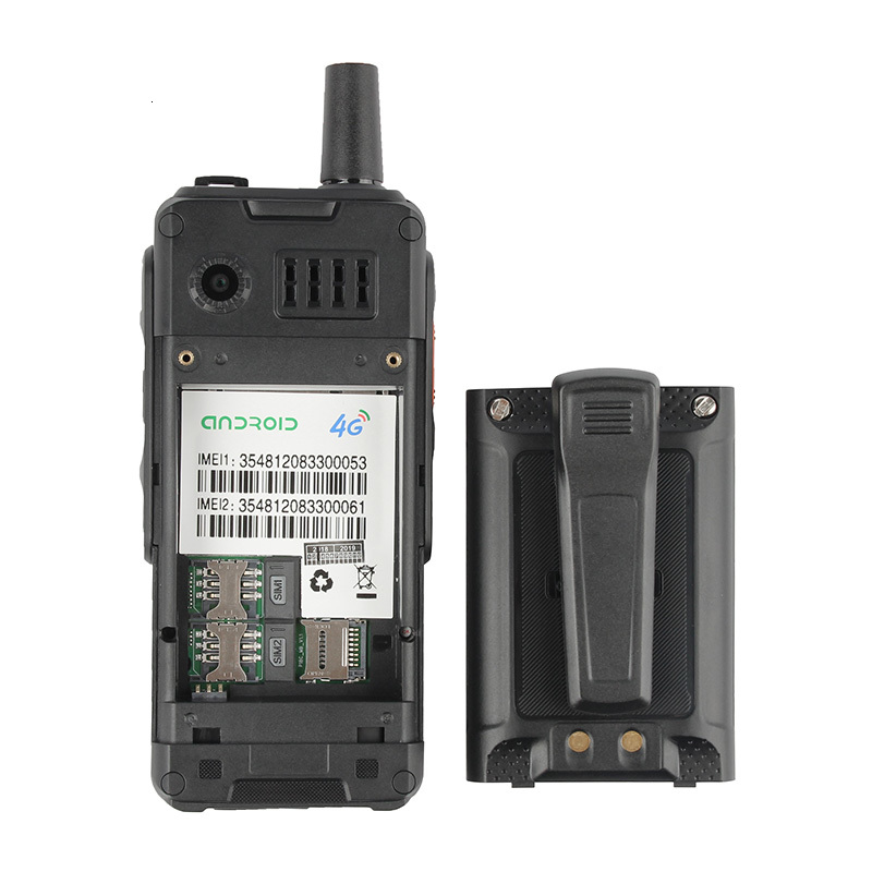 A prueba de golpes a prueba del teléfono móvil 4000mAh Zello Walkie Talkie Android 6,0 GPS 4G rugged Smartphone Quad Core Dual SIM F40 teléfono móvil - 5