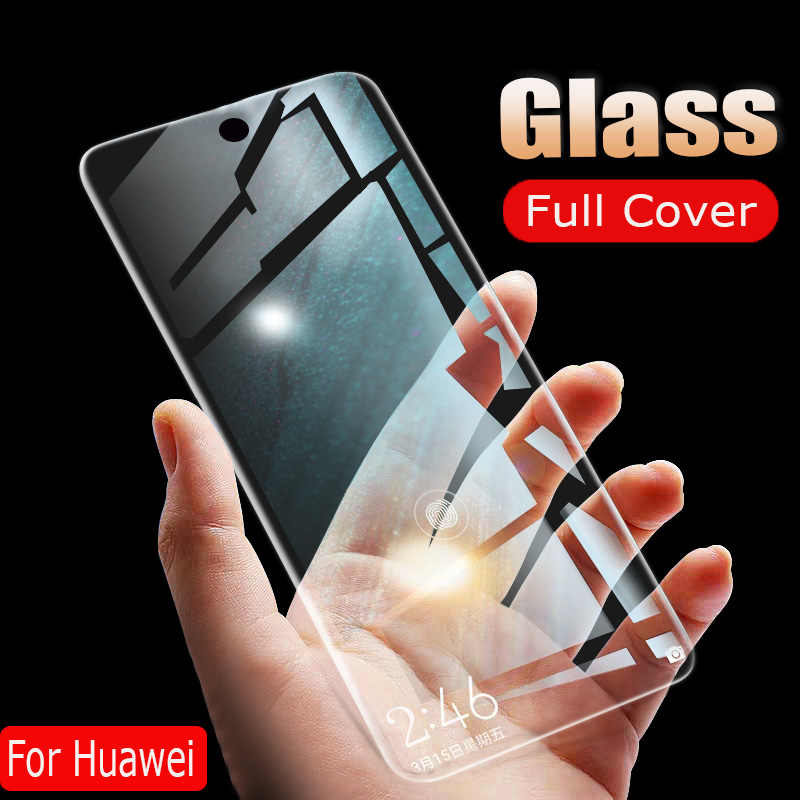 25D Screen Protector Glass Film On The For Huawei Nova 5 Pro Y6 Y7 Y9 2019 Tempered Glass For Huawei Nova 4e 3i Protection Glass