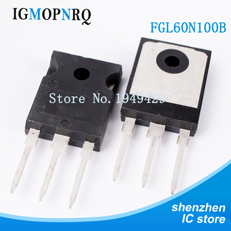 10PCS FGL60N100BNTD TO-247 FGL60N100 <font><b>60N100</b></font> IGBT transistor HIGH New original free shipping image